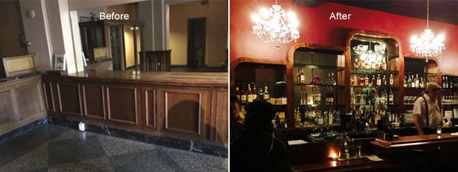 Dillinger's Martini Bar Restoration | Olympia, WA