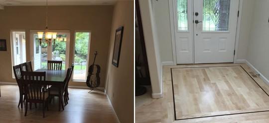 Doyle Residence Floor Sand & Finish | Olympia, WA