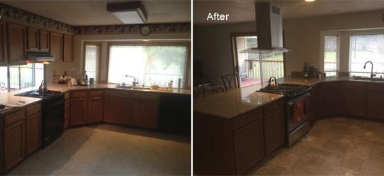 Martin Residence Kitchen Remodel | Lacey, WA