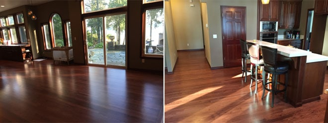 Phillips Residence Floor Sand & Finish | Olympia, WA