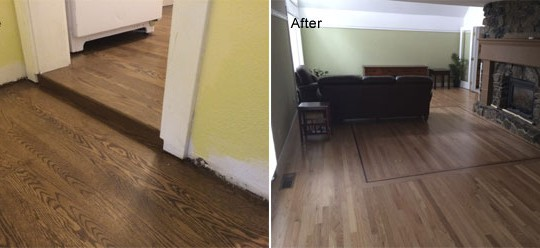 Robbins Residence New Hardwood Flooring | Olympia, WA