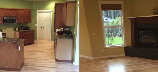Vordahl Residence Floor & Sand Refinish | Olympia, WA