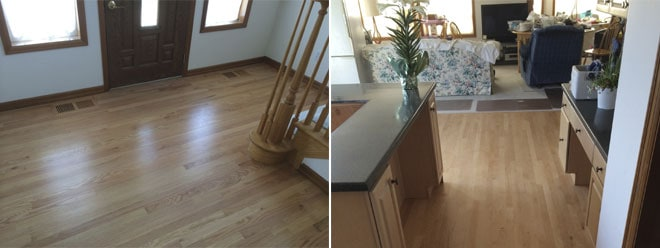 Williams Residence New Hardwood Flooring | Olympia, WA