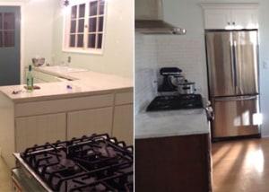 Kennelly Residence Kitchen Remodel & Floor Refurbishing | Rainier, WA