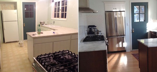 Kennelly Residence Kitchen Remodel & Floor Refurbishing | Rainier, WA