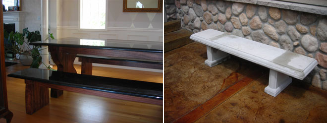 Custom Stonework | Furniture & Sinks