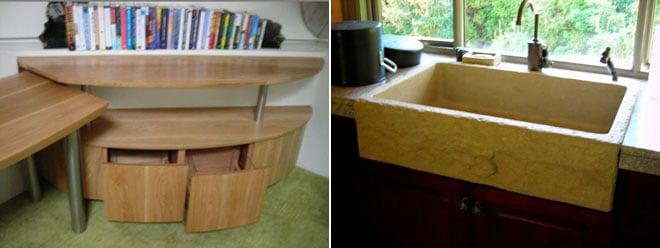 Custom Stonework | Furniture & Sinks