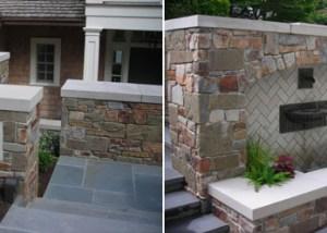 Custom Stonework for Seattle Residence