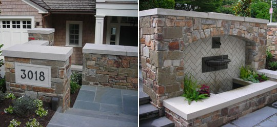 Custom Stonework for Seattle Residence