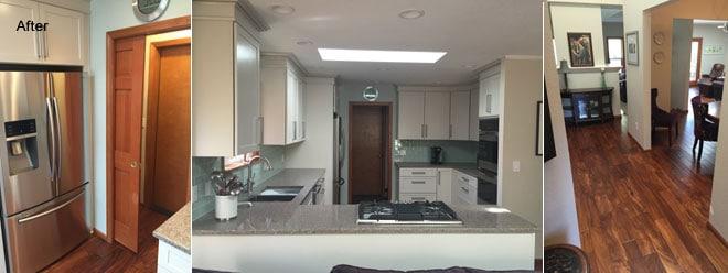... VanBoening Residence Kitchen Remodel U0026 New Hardwood Flooring | Olympia,  WA; VanBoening ...