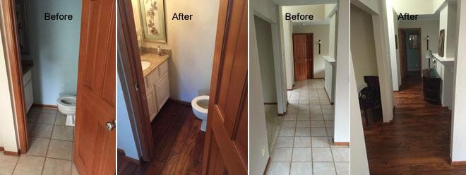 VanBoening Residence Kitchen Remodel & New Hardwood Flooring | Olympia, WA