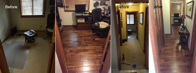 Olympia Residence Kitchen Remodel & New Hardwood Flooring | Olympia, WA