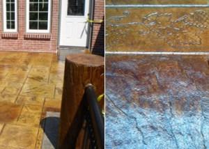 Stamped & Decorative Concrete Work | South Puget Sound, WA