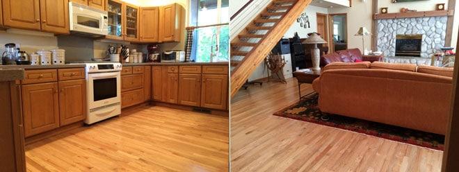 Schumm Residence Hardwood Floor | Olympia, WA 98597