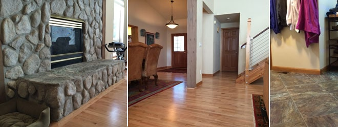 First Finishers General Contractor | Olympia Residence | Oak Hardwood Flooring