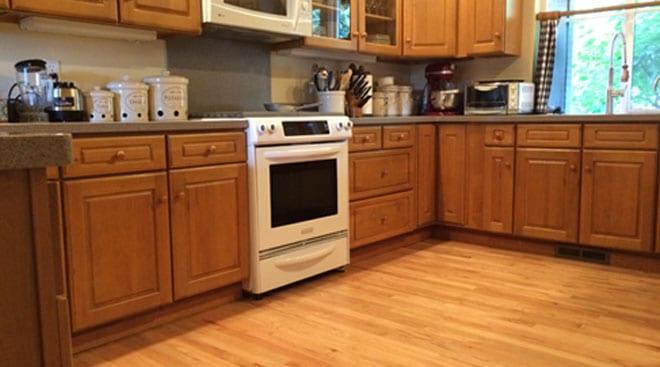 Schumm Residence Hardwood Floor | Olympia, WA