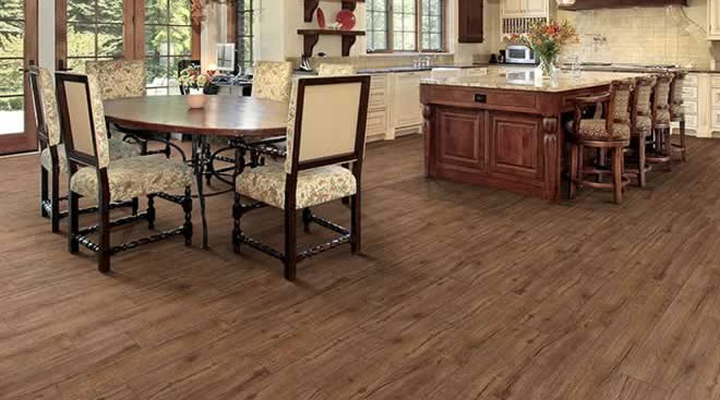 Heritage Bourbon Everwood Laminate Flooring by Balterio