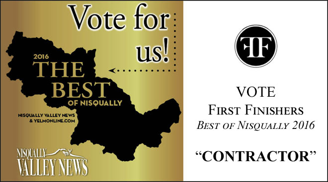 "Vote First Finishers Best of Nisqually 2016 ""CONTRACTOR"""
