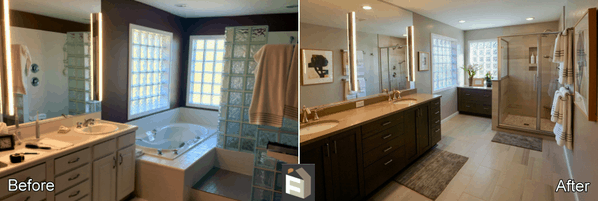 Bathroom Remodel by First Finishers LLC